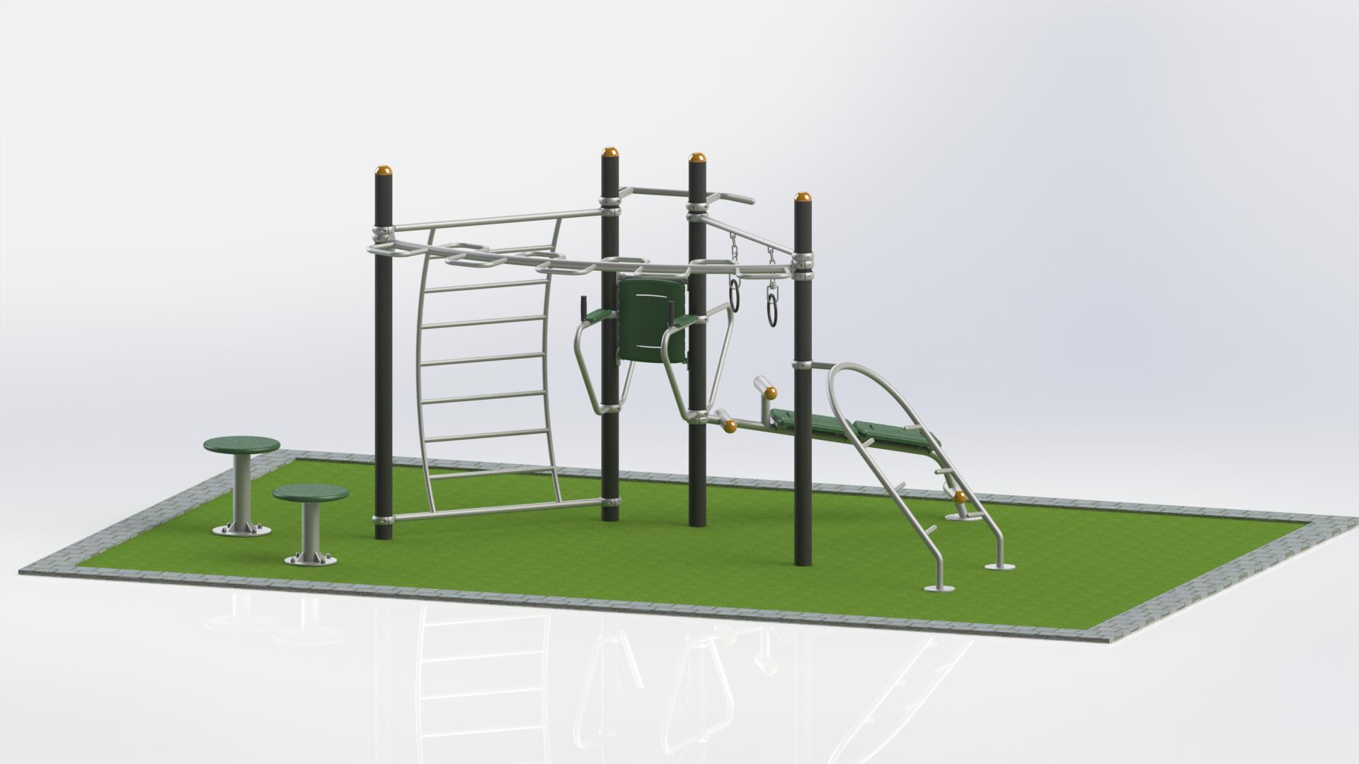 Gym africa outdoor equipment