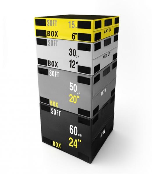 Gym Africa Back2basics Stackable Safety Plyo Box Set